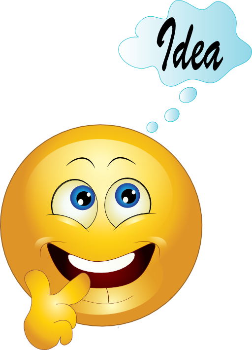 Yellow Thinking Smiley Emoticon Clipart Royalty Free ... - ClipArt ...