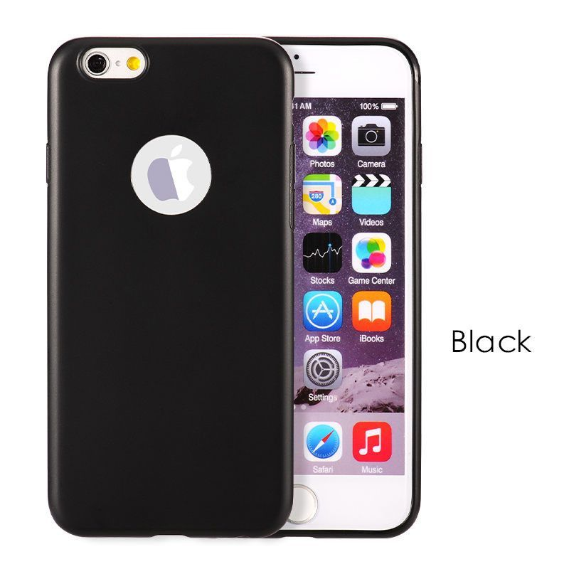 For iPhone6S 6G 7 7 Plus Candy Color Silicone TPU Gel Soft Case For Apple iPhone 6 6S 7 Rubber Soft Back Cover Shockproof Cases