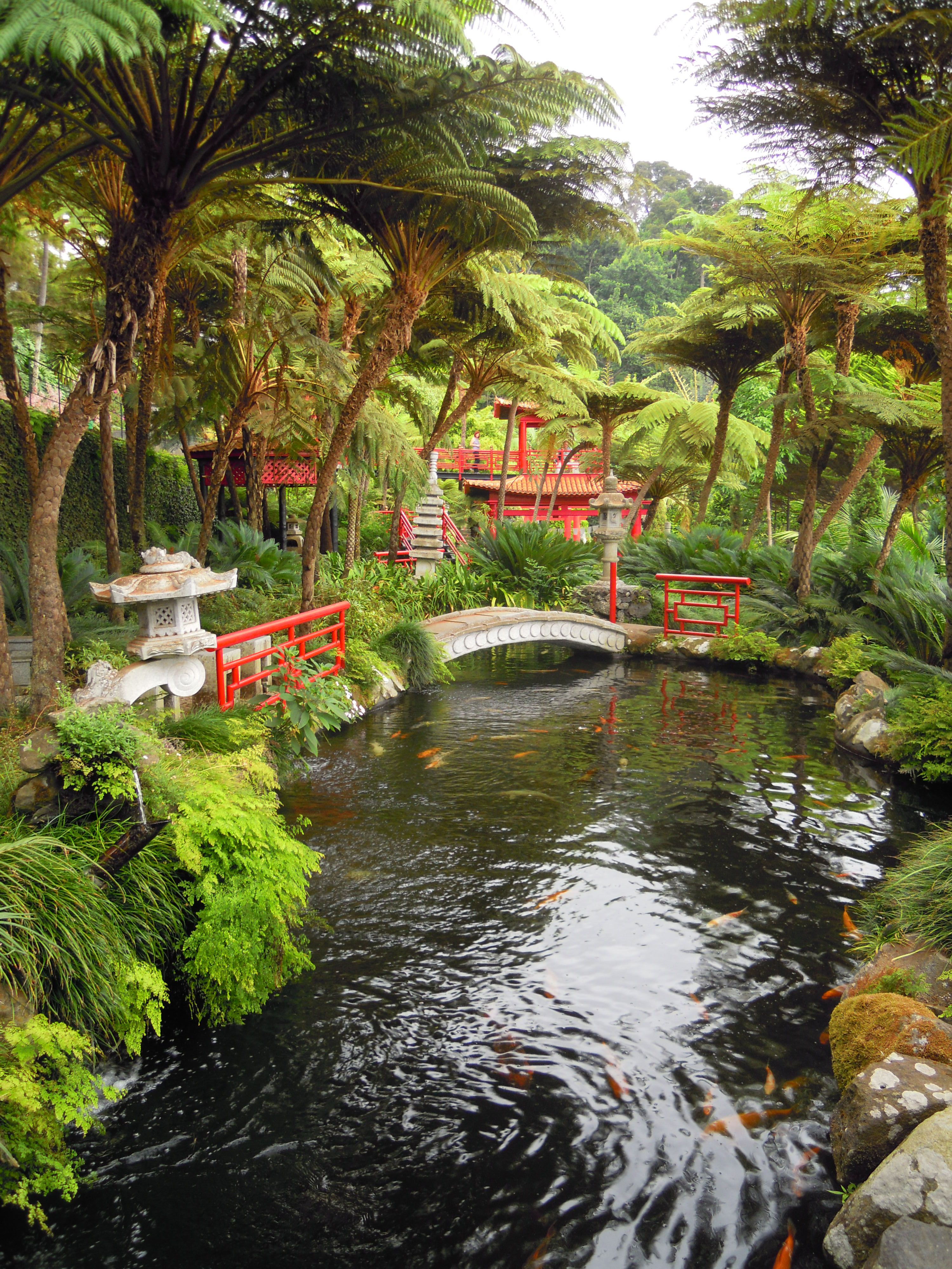 The Monte Palace Tropical Garden In Funchal Madeira Is A True