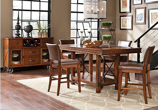 Shop for a Red Hook 5 Pc Counter Height Dining Room at Rooms To Go ...