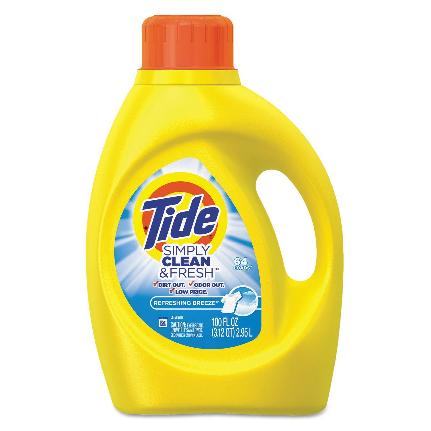 Tide Simply Clean And Fresh Laundry Detergent Refreshing Breeze