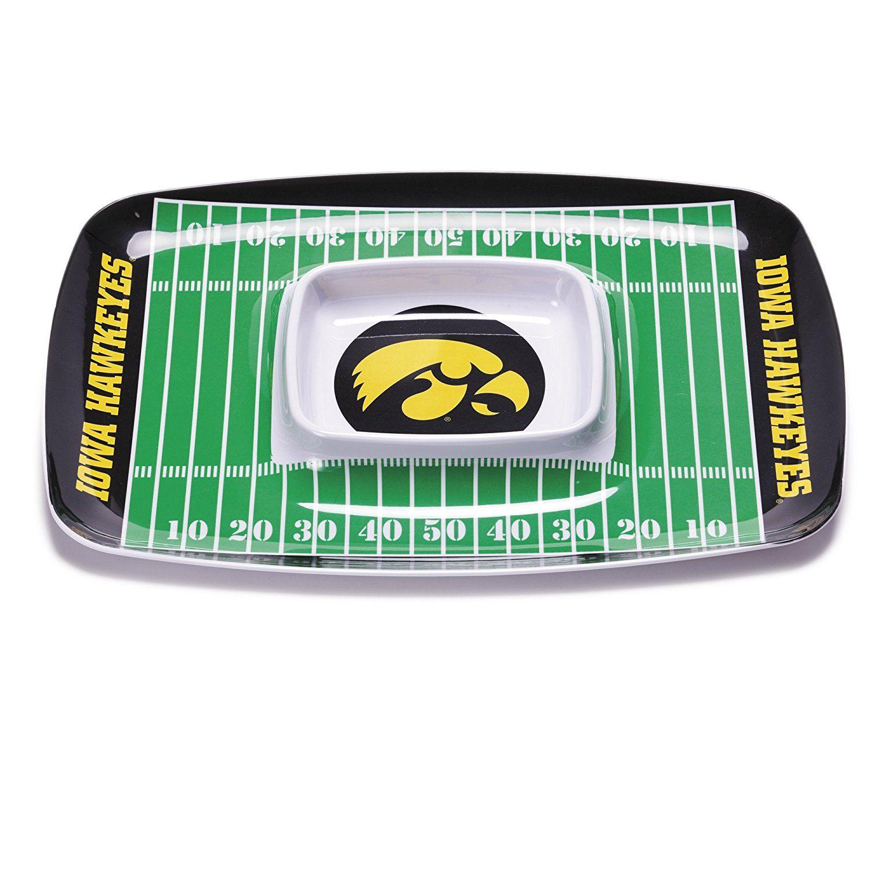 Iowa Hawkeyes Dip tray, Iowa hawkeyes, Chip and dip sets