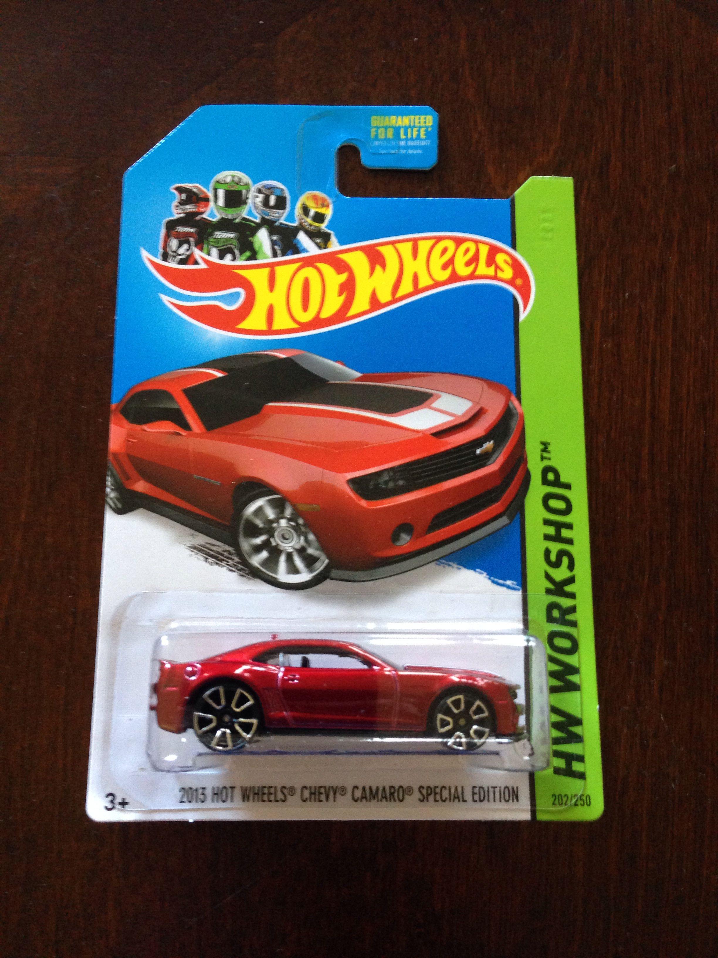Hotwheels Chevy Camaro Special Edition Hot Wheels Hot Wheels Cars Chevy Camaro