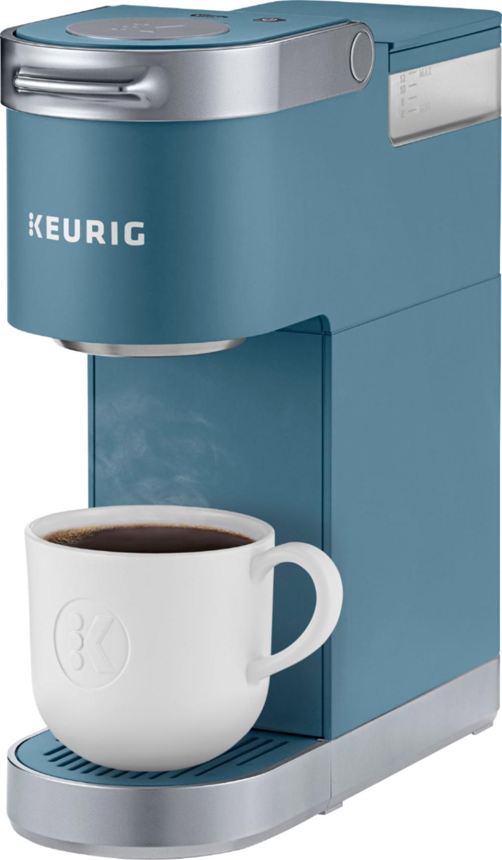 Keurig K Mini Plus Single Serve K Cup Pod Coffee Maker Evening Teal 5000203817 Best Buy In 2020 Pod Coffee Makers Keurig Single Serve Coffee Makers