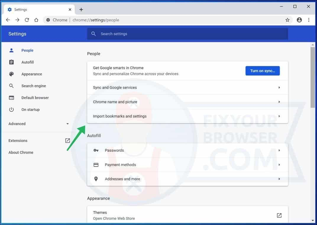 This is how to import favorites in Google Chrome (Step by Step Guide) |  Browser internet, Google chrome web browser, Browser chrome