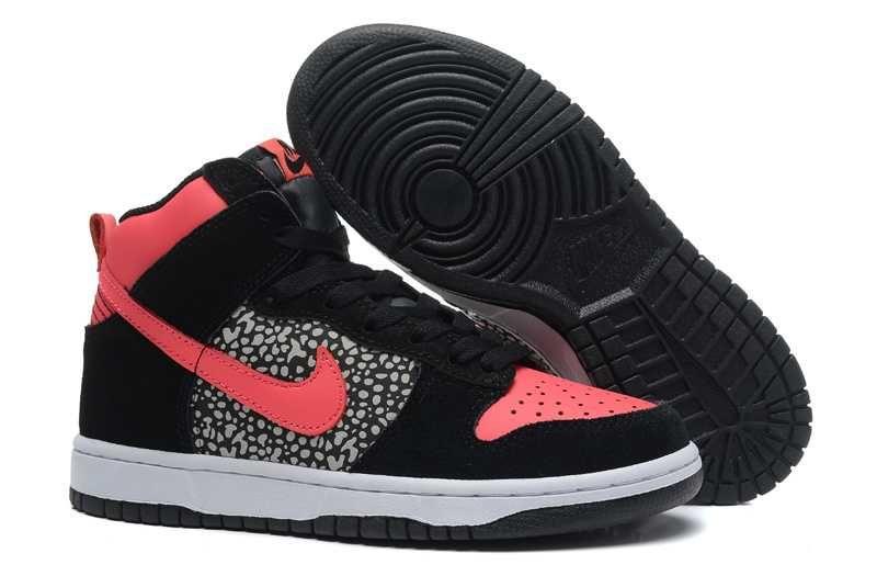 purchase cheap 458e7 e04c1 1767   Nike Dunk High Dam Atomic Svart Röd Vit SE726657DznNIunbe