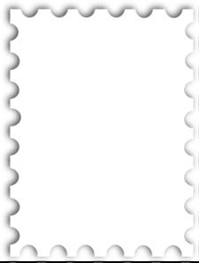 blank postage stamp template kb clip art artistamps mailart