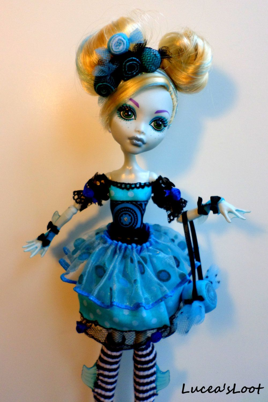 Monster High Sweet Screams Carnival Tea Party Doll Dress Salt Water Taffy Fashion Set by LuceasLoot on Etsy
