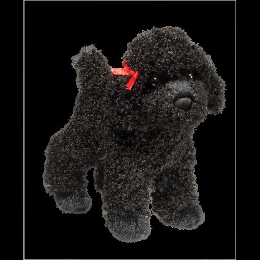 Douglas Gigi Black Poodle 8 Poodle Stuffed Animal Puppy Plush Toys Plush Stuffed Animals