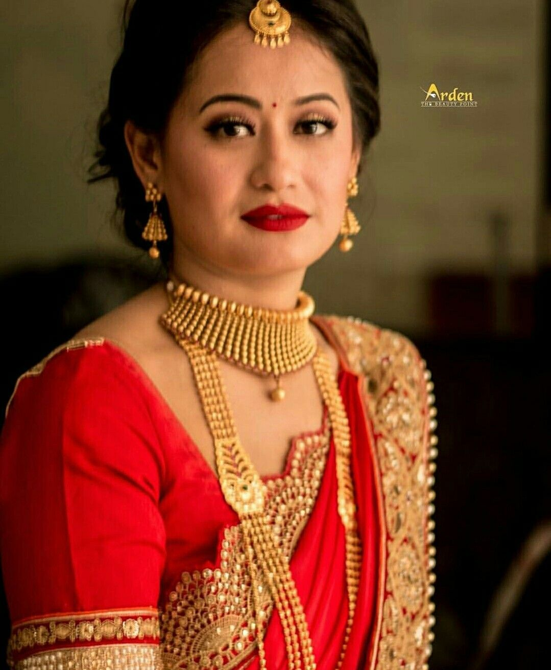 nepali wedding tradition nepal marriage bride makeup simple Nepali Wedding Jewellery nepali wedding tradition nepal marriage bride makeup simple nepali wedding jewellery