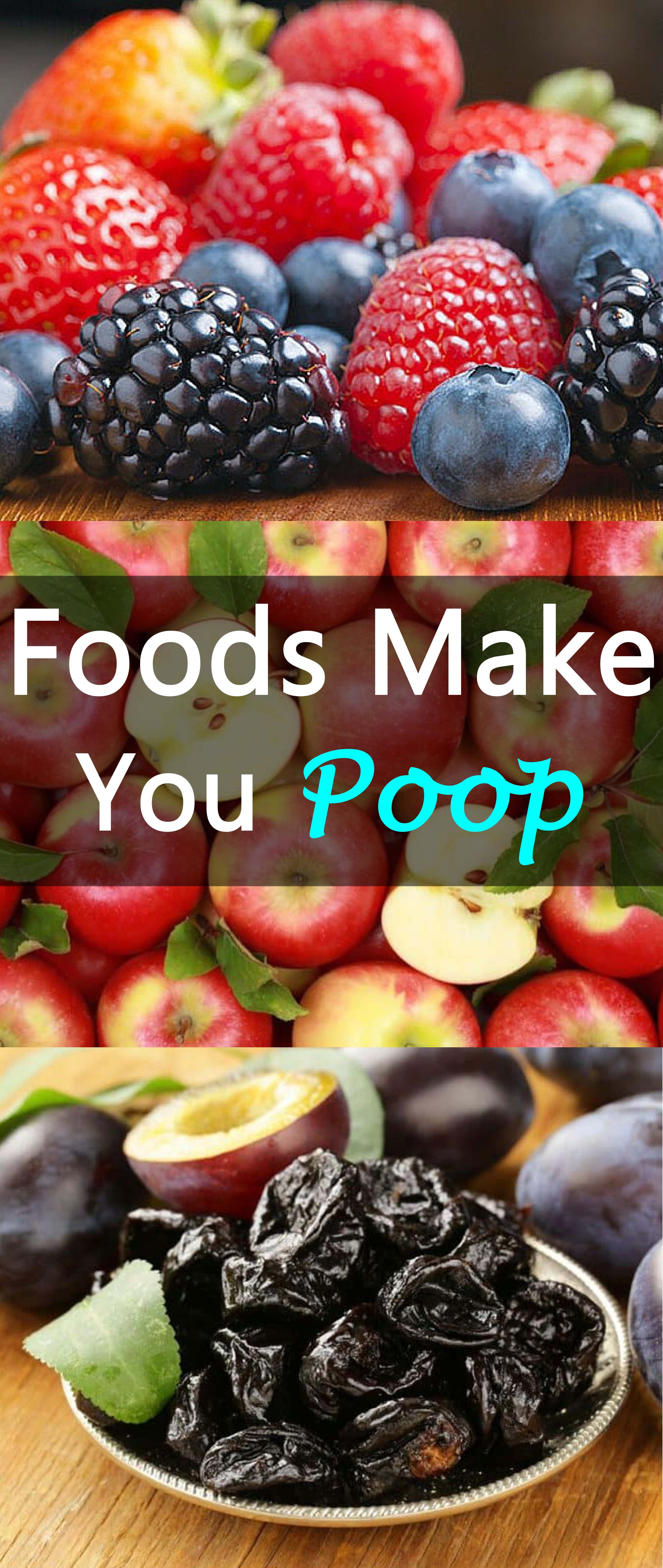 17 foods that make you poop- for constipation relief | constipation