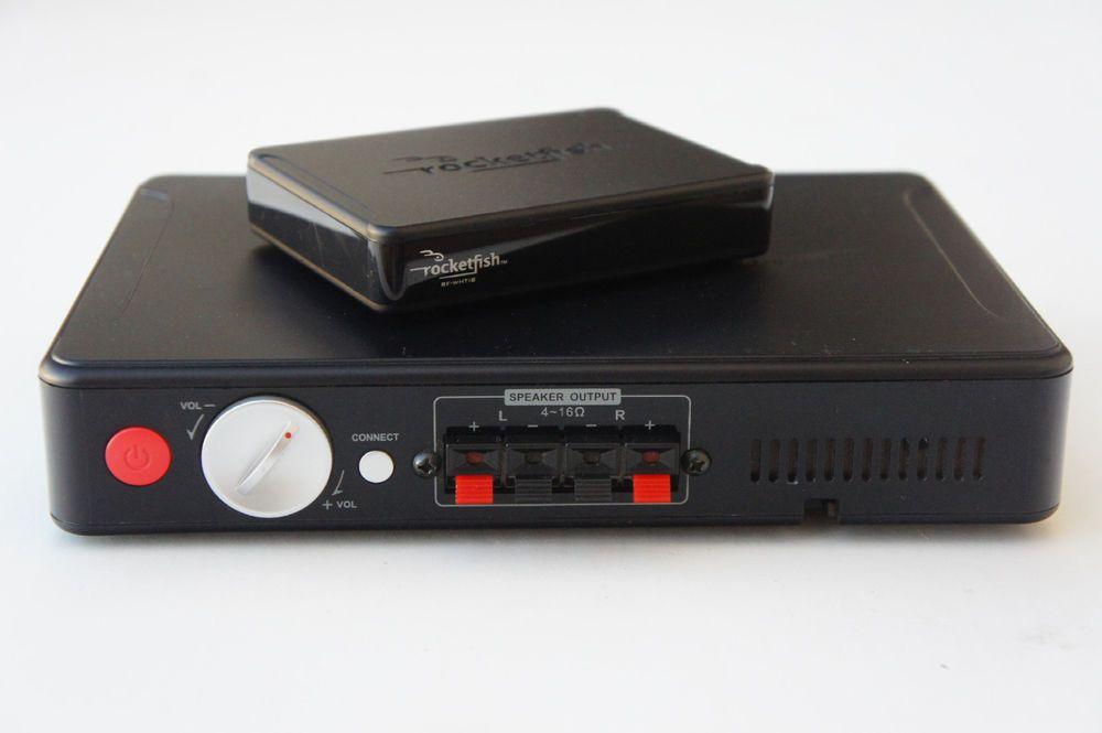 Rocketfish Universal Wireless Rear Speaker Kit Black RF-WHITIB-A
