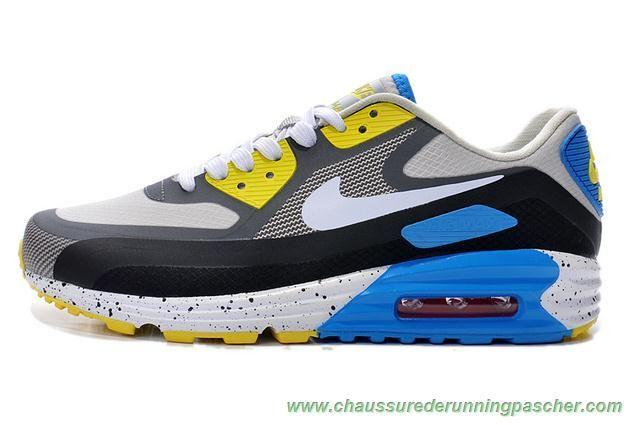 meilleures chaussures running Noir Gris Gris Gris loup Gris foncé Bleu Nike 7d3756
