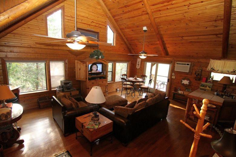 Secret Cove Cabin · Oklahoma Cabin RentalsSulphur ...