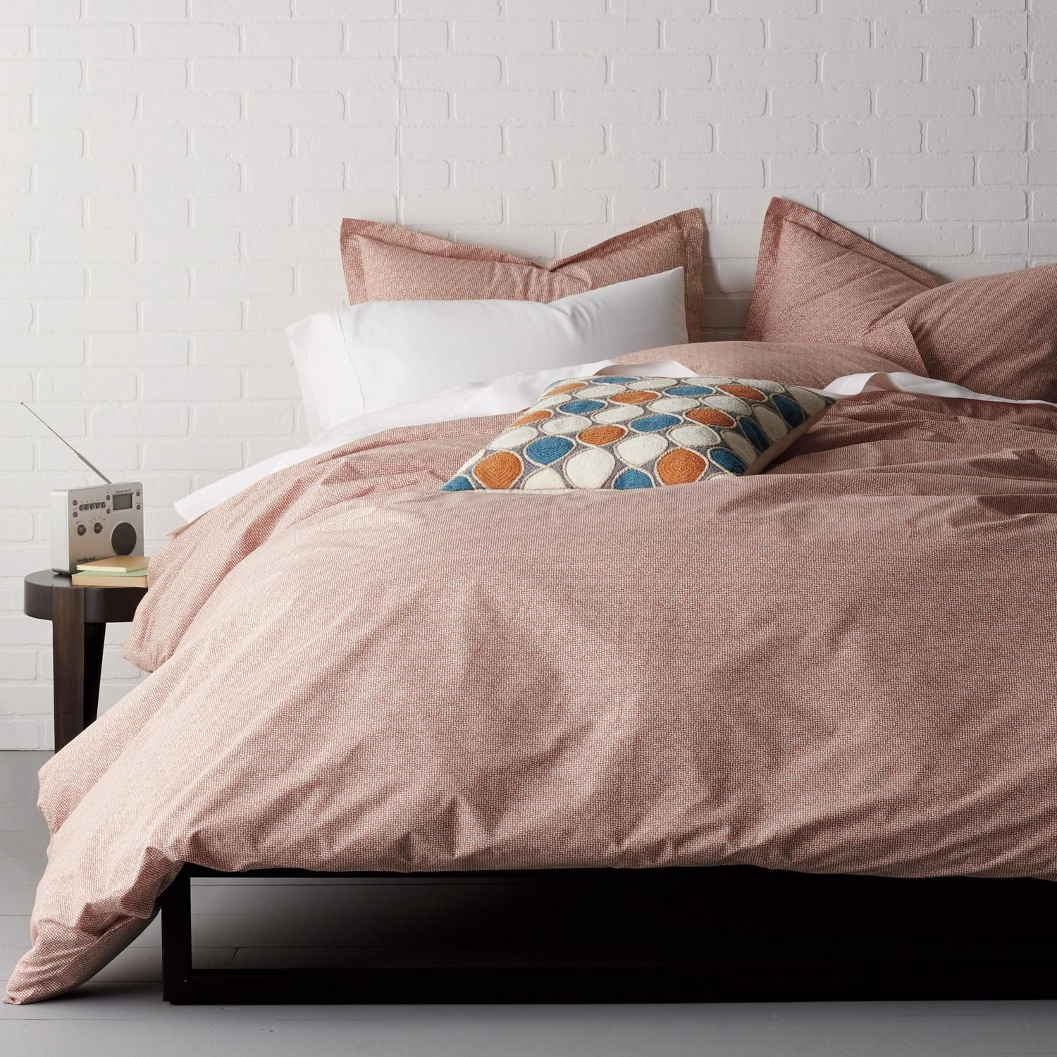 Cstudio Home On Point Organic Cotton Percale Duvet Cover