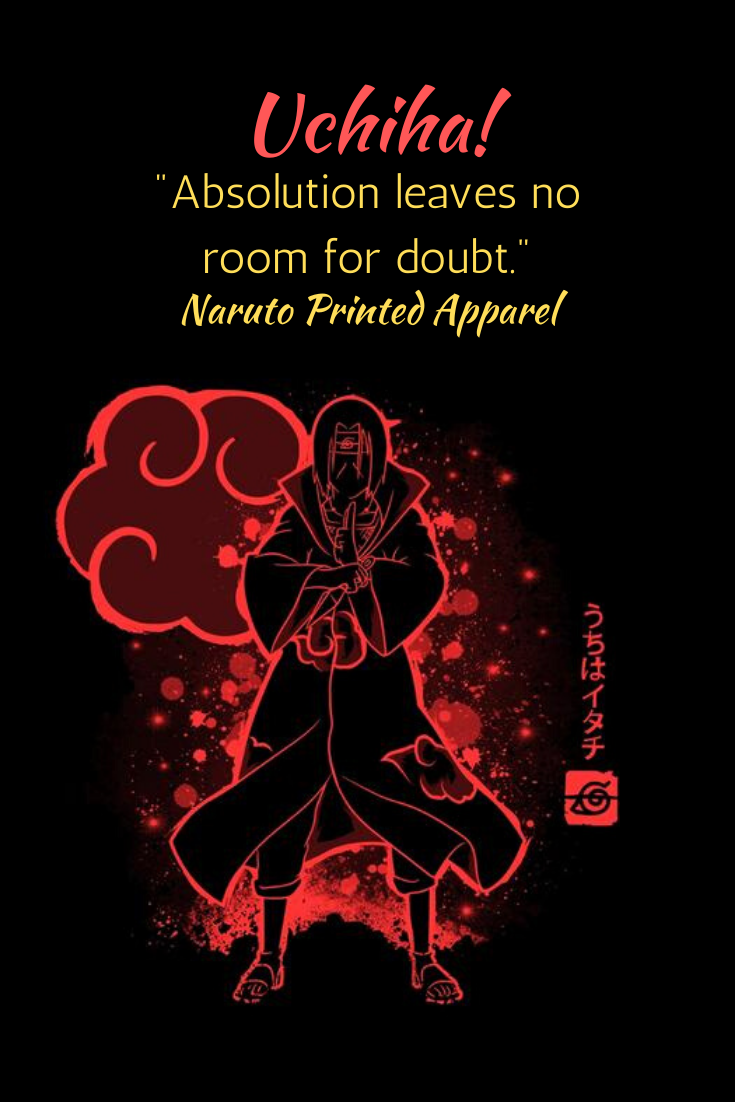 Stunning look of Itachi Uchiha on an anime hoodie. Minimalist style yet bold.  #affiliate #cooltshirts #cheaptshirts #hoodies #graphictees #funnytshirts #customtshirts #fashion #apparel #gym #casual #independentartist #animedrawing #charitablegiving #support