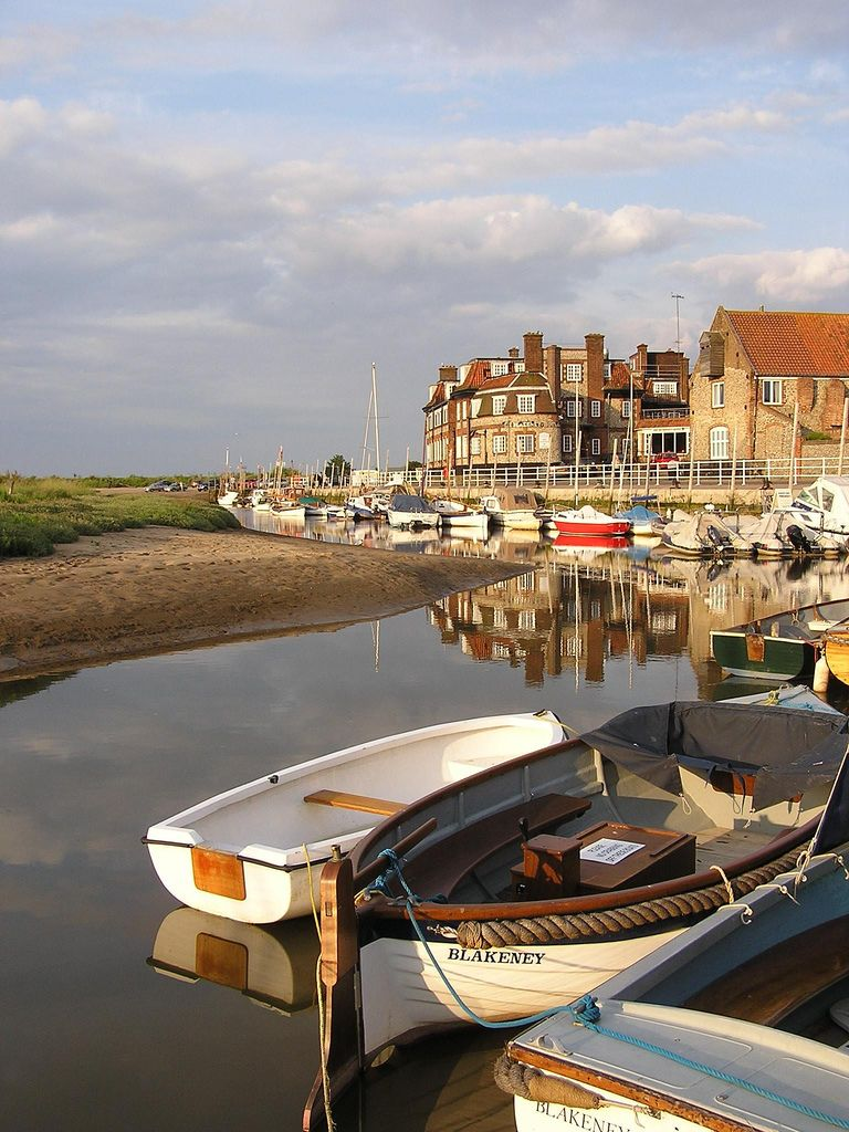 Blakeney Harbour Is A Beautiful Village On The Norfolk Coast It Became Fishing