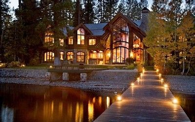 Lake Tahoe.  And you can rent this place......Honey, we're going on vacation....