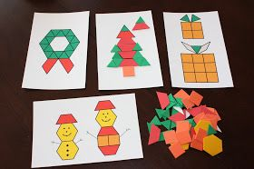 Winter pattern blocks