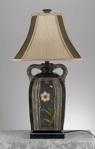 3 Way Beaumont Table Lamp Cal Lighting Table Lamp Fabric Shades