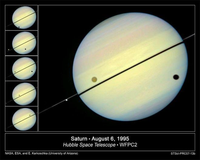 Saturno - Paleta de cores