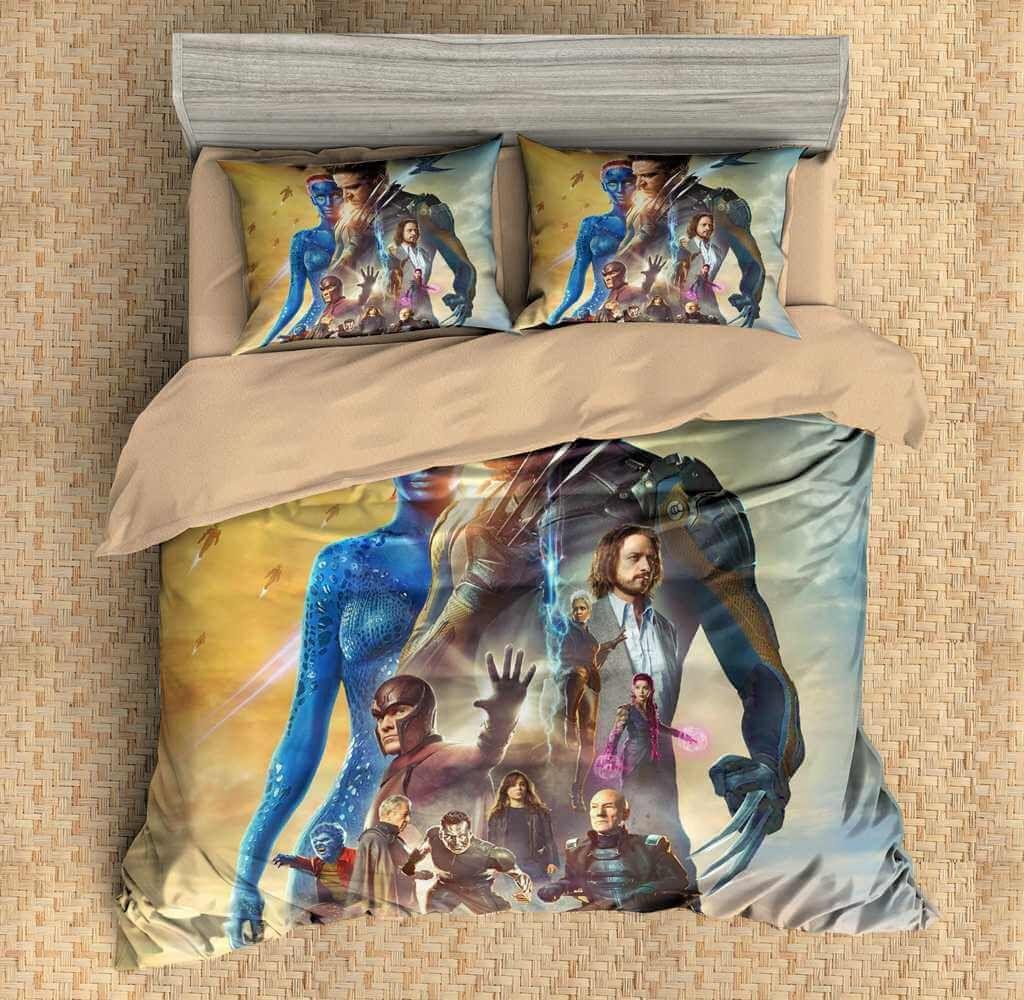 3d Customize X Men Bedding Set Duvet Cover Set Bedroom Set Bedlinen