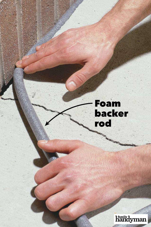 Caulking Concrete Cracks In 2020 Diy Gutters Caulking Home Repair