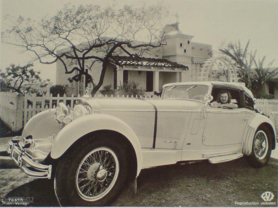 Lilian Harvey i Mercedes Benz... w Pocztówki Artystyczne (With ...