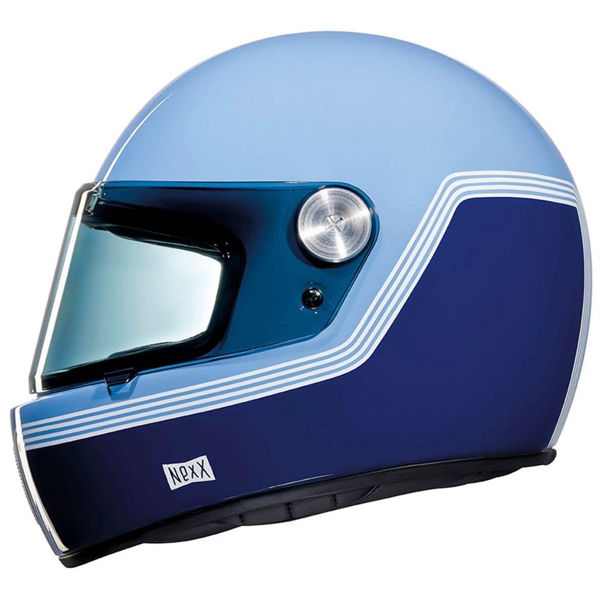 d76eee73 Nexx XG100R Grandwin Helmet - Black / Blue / White | Helmets | Full face  motorcycle helmets, Black motorcycle helmet, Motorcycle helmets