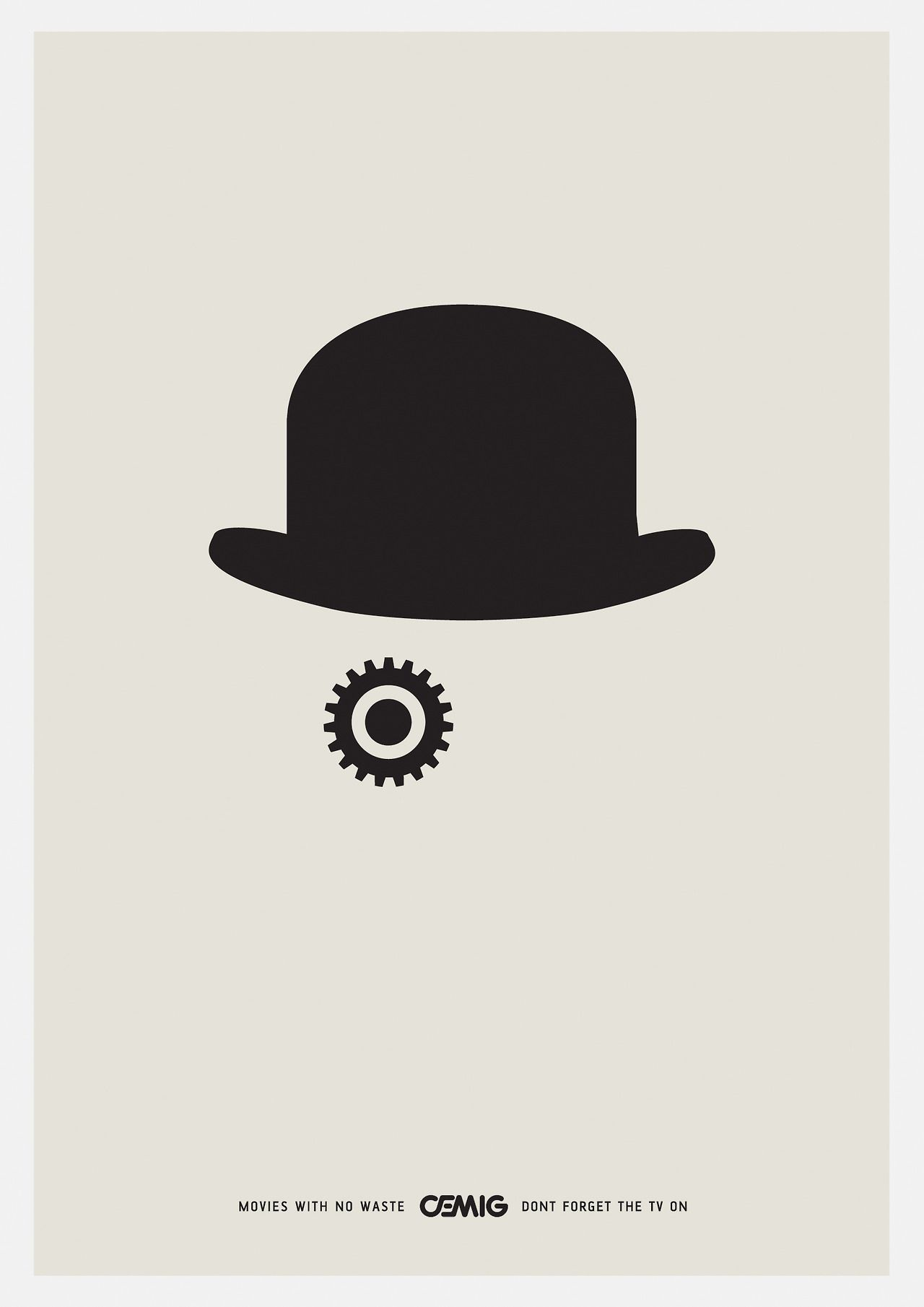 A Clockwork Orange. #minimal #design | 23June13 ... A Clockwork Orange Minimalist Poster