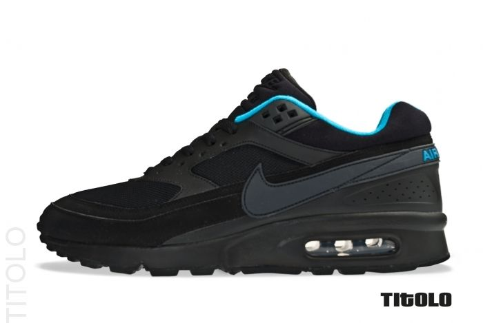 huge selection of 4df00 e668f nike air classic bw textile black anthracite white dynamic blue