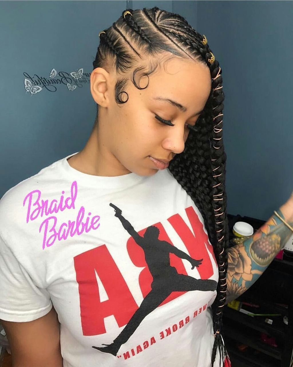 Nice super cute and creative cornrow hairstyles ideas you can try