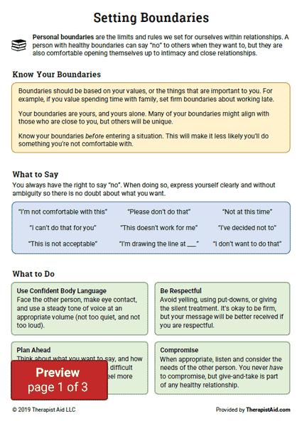 11++ Free printable codependency worksheets Online