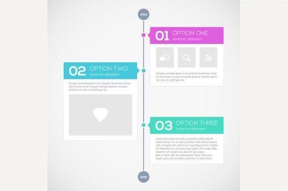 Modern timeline design template Timeline design and Timeline