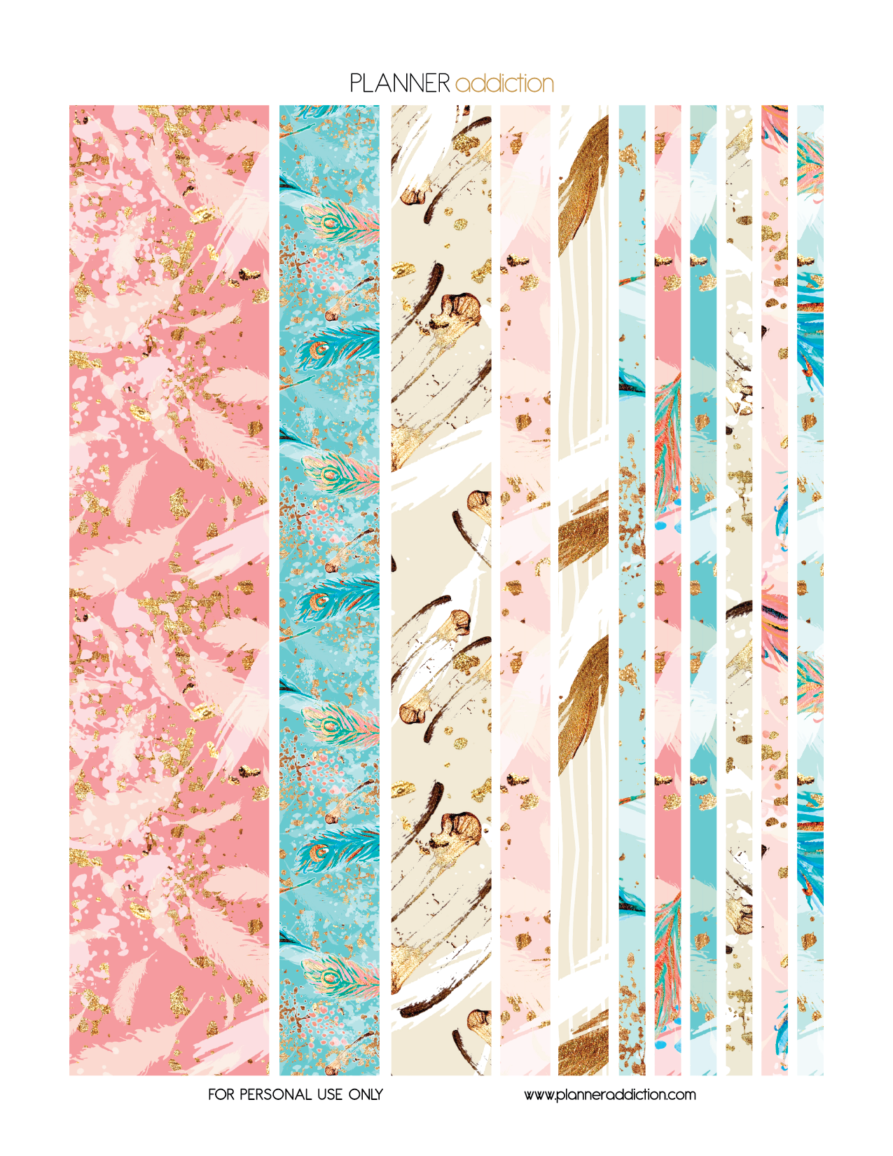 Zany image for free printable washi tape