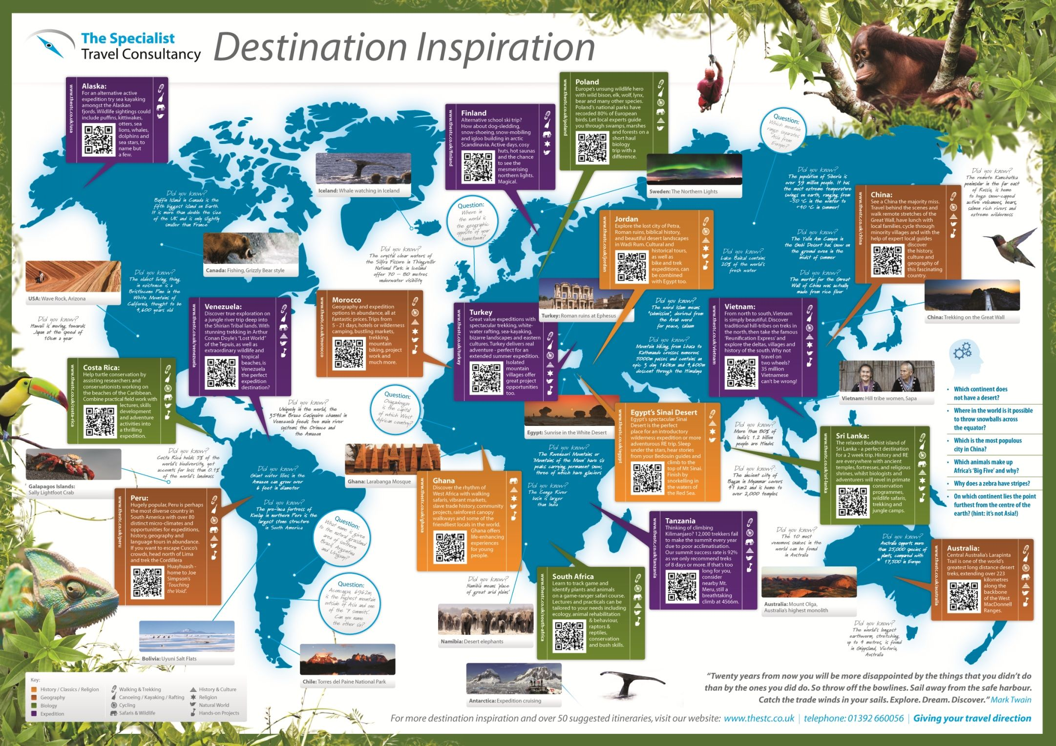 A2 Lesson Planning Resource Map For Biology Geography Travel And Tourism Teachers Want