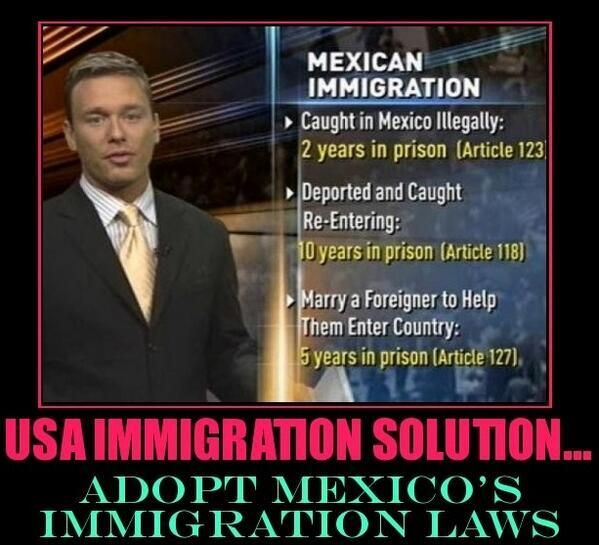 What are some immigration laws that have been enforced through out the years...?