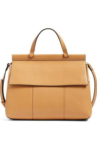 9ff8b289ebb8 TORY BURCH Block T Leather Satchel.  toryburch  bags  shoulder bags  hand  bags  leather  satchel  lining