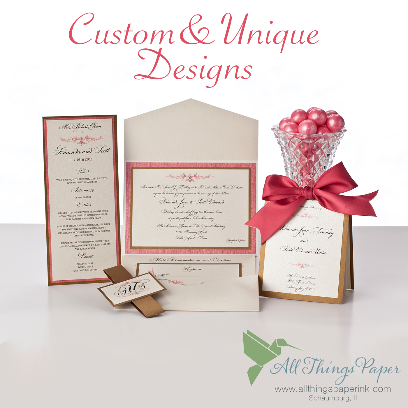 Choose from hundreds of wedding invitation design options or we will choose from hundreds of wedding invitation design options or we will create something truly custom and stopboris Choice Image