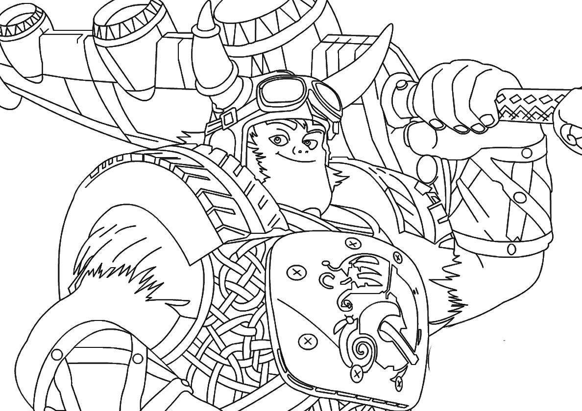 Brave Viking Crogar High Quality Free Coloring From The Category Zak Storm More Printab Cartoon Coloring Pages Free Printable Coloring Pages Coloring Pages
