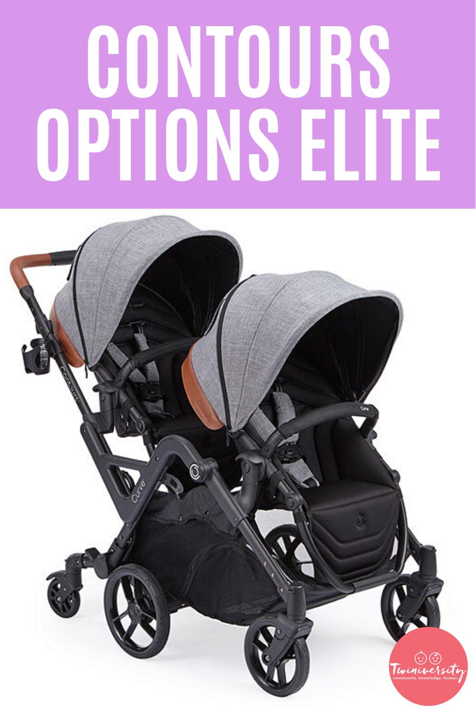 Contours Options Elite Double Stroller Review Double