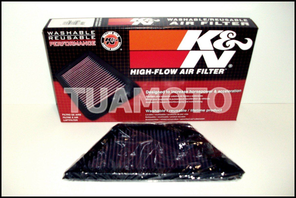 (4) Filtro De Aire K&n Para Kawasaki Ninja Zx14 Tuamoto