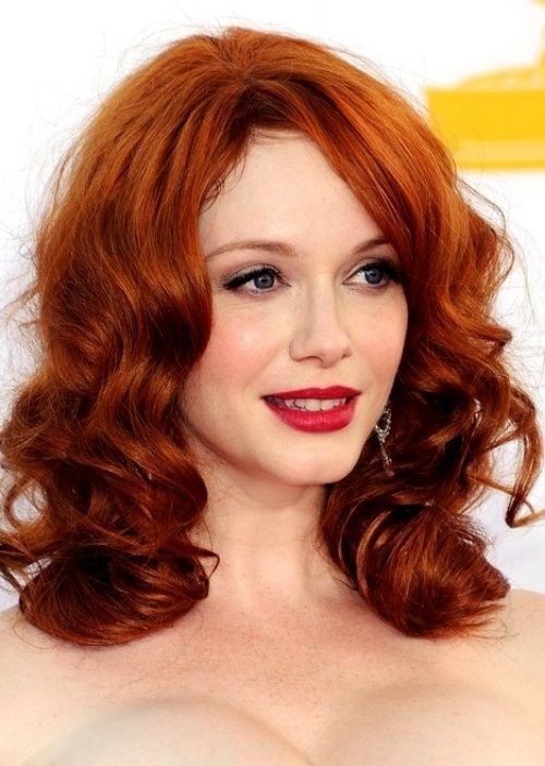 25 celebrities who rock chestnut hair – hairstyle models