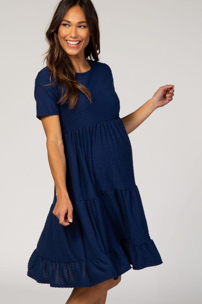 PinkBlush - Where Fashion Meets Motherhood #navyblueshortdress