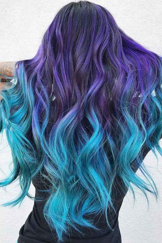 Photo of 41 Ethereal Looks With Blue Hair | LoveHairStyles.com