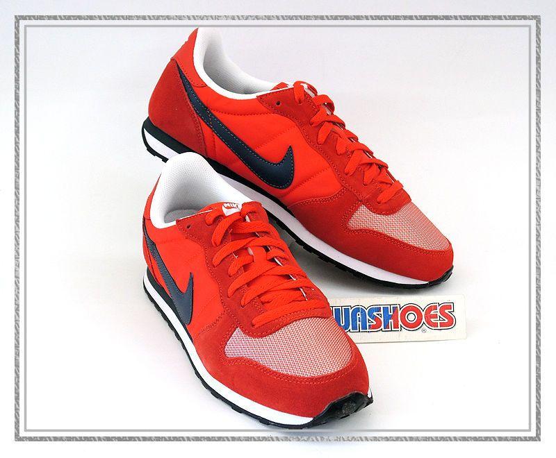 online store b794f f5028 Nike Genicco Retro Challenge Red Grey White 644441-601 US 9~11 2014 running  1 #Nike #Running