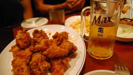 South Korea's fried-chicken-and-beer combo is a cracking food sensation and the country's latest global export.
