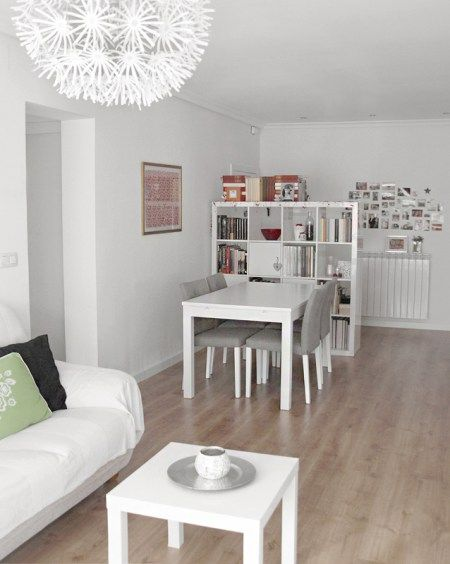 Pisos decoraci n n rdica espa a muebles de ikea for Decoracion piso en madrid