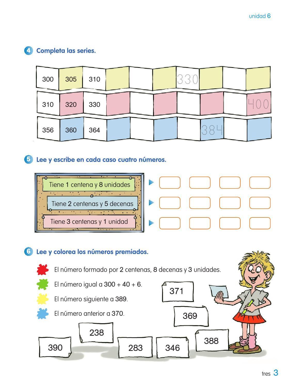 Cuaderno De Matematicas 2º De Primaria Segundo Trimestre Los Caminos Del Saber Santillana Cuadernos De Matematicas Matematicas Leer Y Escribir