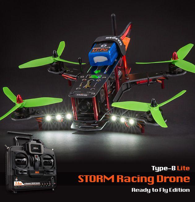 STORM Racing Drone (RTF / Type-B Lite) //www.helipal.com ... on